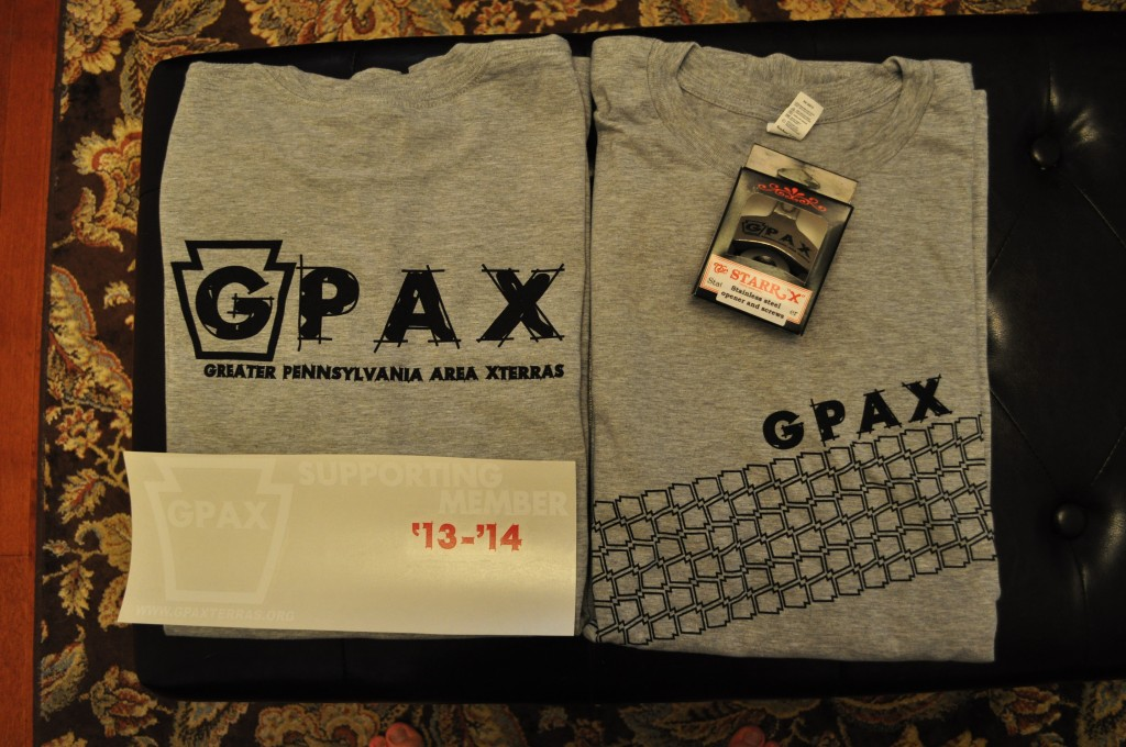 The 2013-2014 GPAX Supporting Membership Package!