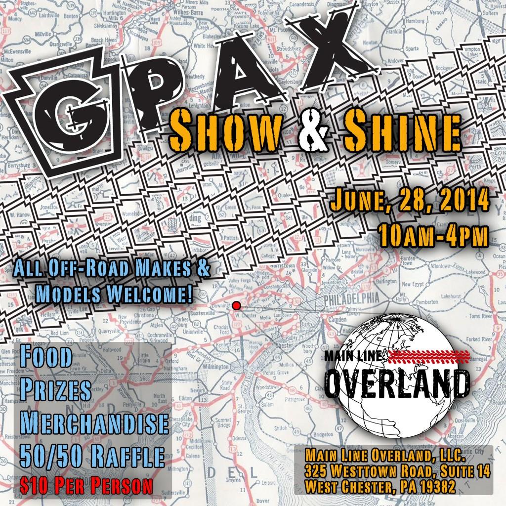 GPAX Show & Shine 2014
